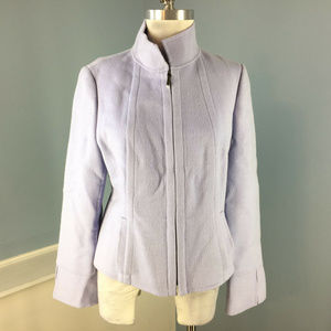 Carlisle Lilac Purple M 10 Blazer Jacket Wool
